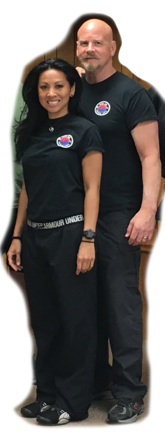 Instructor Kim Barnard & Master Mike Barnard