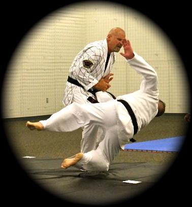 Mike hapkido take down